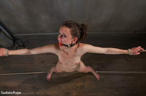 Girl s tied to chair with box on head an - XXX Dessert - Picture 12