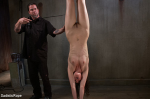 Girl s tied to chair with box on head an - XXX Dessert - Picture 14