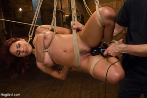 Sweet young chick with hairy pussy hung, - XXX Dessert - Picture 8