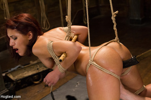 Sweet young chick with hairy pussy hung, - XXX Dessert - Picture 13