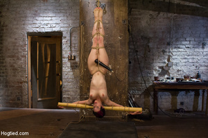 Sexy flexible girl folded and tied on ch - XXX Dessert - Picture 13