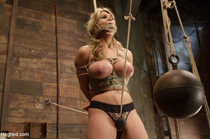 Big boobs chick gets stripped nude, rope - XXX Dessert - Picture 6