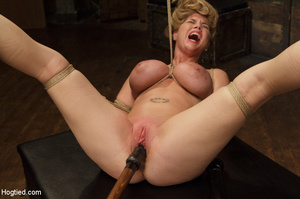 Big boobs chick gets stripped nude, rope - XXX Dessert - Picture 13