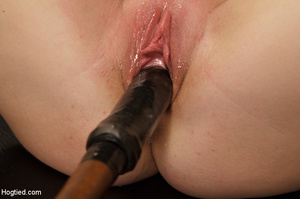 Big boobs chick gets stripped nude, rope - XXX Dessert - Picture 14