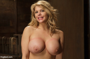 Big boobs chick gets stripped nude, rope - XXX Dessert - Picture 15