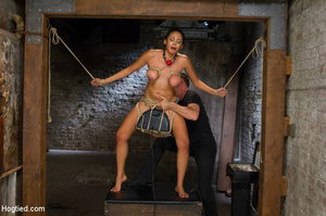 Chick moans in pleasure and pain as she  - XXX Dessert - Picture 10