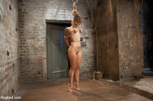 Hardcore bondage as babe is racked and r - XXX Dessert - Picture 6