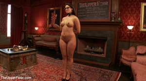 Lusty big tits babe in glasses and frien - XXX Dessert - Picture 1