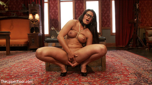 Lusty big tits babe in glasses and frien - XXX Dessert - Picture 3