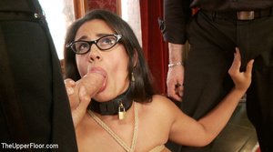 Lusty big tits babe in glasses and frien - XXX Dessert - Picture 5