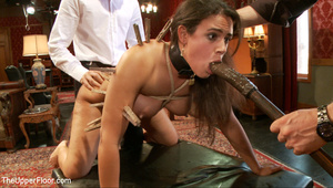 Lusty big tits babe in glasses and frien - XXX Dessert - Picture 9