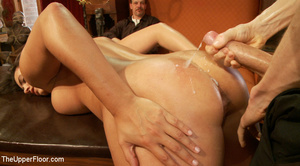 Lusty big tits babe in glasses and frien - XXX Dessert - Picture 15