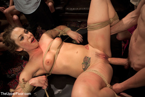 Hot curvy babes caned and roped as they  - XXX Dessert - Picture 7