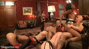 Enslaved babes suck cock, lick cunt, suc - XXX Dessert - Picture 13