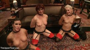 Enslaved babes suck cock, lick cunt, suc - XXX Dessert - Picture 15