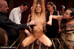 Girl brought out from cage to be tied, s - XXX Dessert - Picture 3