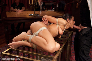 Girl brought out from cage to be tied, s - XXX Dessert - Picture 4