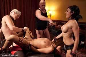 Girl brought out from cage to be tied, s - XXX Dessert - Picture 12