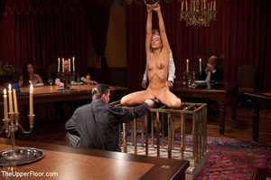 Girl brought out from cage to be tied, s - XXX Dessert - Picture 15