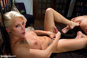 hot tattoo blonde tranny