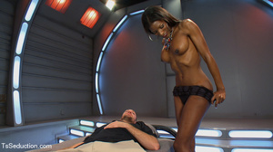Beautiful black shemale and white dude s - XXX Dessert - Picture 3