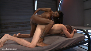 Beautiful black shemale and white dude s - XXX Dessert - Picture 9