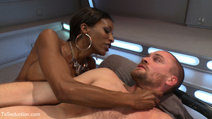 Beautiful black shemale and white dude s - XXX Dessert - Picture 10