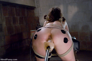 Hot blonde shows tied up girl no mercy w - XXX Dessert - Picture 10