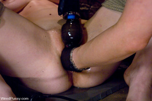 Hot blonde shows tied up girl no mercy w - XXX Dessert - Picture 12