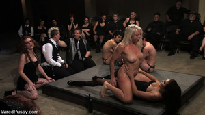 Private show as cute blonde gets pegged, - XXX Dessert - Picture 10