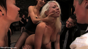 Private show as cute blonde gets pegged, - XXX Dessert - Picture 13