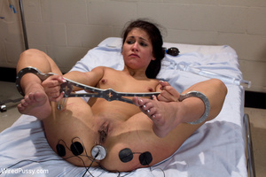 White coats sluts strip chick to tie and - XXX Dessert - Picture 10