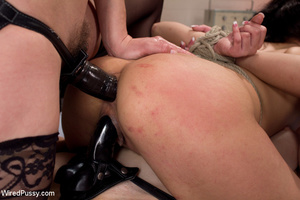 White coats sluts strip chick to tie and - XXX Dessert - Picture 13