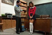 bad student gets punished
