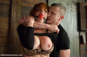 Pretty sweet boobs girl enslaved by tatt - XXX Dessert - Picture 2