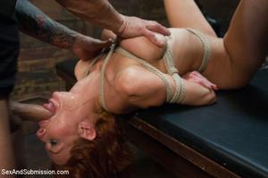 Pretty sweet boobs girl enslaved by tatt - XXX Dessert - Picture 6