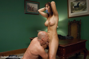 Boss catch chick kissing and binds her t - XXX Dessert - Picture 6