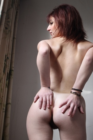 Horny cute brunette with firm ass and ti - XXX Dessert - Picture 13