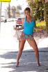 busty blonde gymnast girl