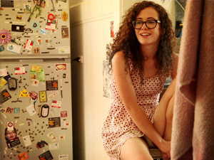 Curly chick in glasses loves pleasing he - XXX Dessert - Picture 8