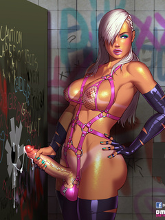 Diabolic ladyboys in awesome porn comics - Picture 4