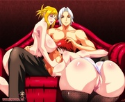 big-titted anime sluts group