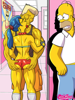 Famous cartoon heroes in dirty adult porn comics - Picture 3
