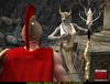 Horny Roman legionnaire fucking variously sexy female werewolf