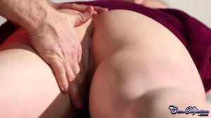 Cute blonde gets turned on by massage an - XXX Dessert - Picture 5