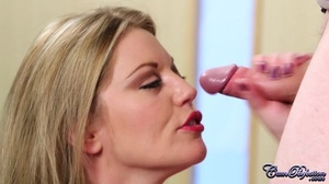 Slutty doc. blonde takes guys cock out f - XXX Dessert - Picture 6