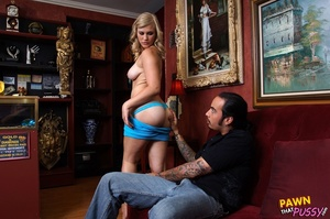 Blonde with lusty tits looking for cash  - XXX Dessert - Picture 8