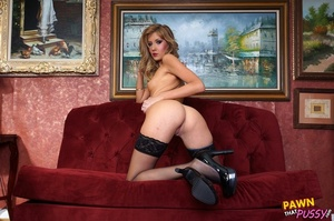 Tall sexy blonde fucked and banged in pa - XXX Dessert - Picture 8