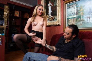 Another sexy blonde who prefers to pawn  - XXX Dessert - Picture 9