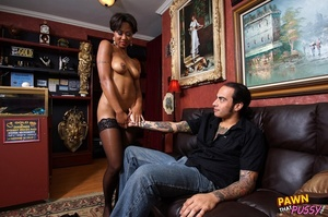 Sweet curvy ebony slut waste no time str - XXX Dessert - Picture 10
